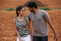Sanjay and Sanyathara Photos from Meimaranthen Movie