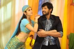Sanyathara and Sanjay in Meimaranthen Movie