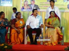 Sarathkumar and Raadhika Sarathkumar graced the Koovagam Beauty Show