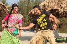 Shravya and Ajay Rao in Kannada Film Rose