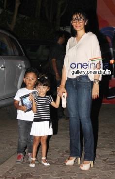 Bollywood Actress Shilpa Shetty & Raj Kundra Son's Vian Raj's 2nd birthday celebration