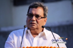 Subhash Ghai addressing at Brahma kumaris decennial celebration
