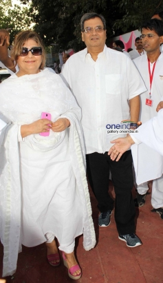 Subhash Ghai arrives at Brahma kumaris decennial celebration