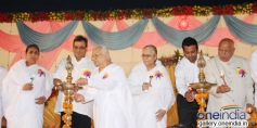 Subhash Ghai and Leander Paes at Brahma kumaris decennial celebration