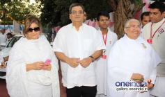 Subhash Ghai welcomed at Brahma kumaris decennial celebration