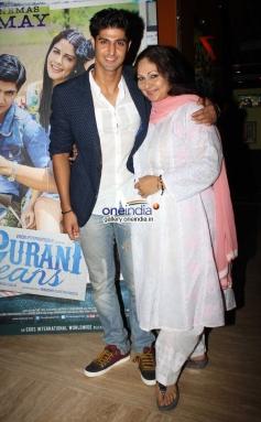 Tanuj Virwani at Purani Jeans film screening