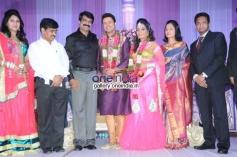 Telugu Actor Raja Wedding Reception Stills