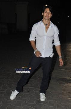 Tiger Sharoff at Heropanti Premiere Show