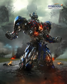Transformers Optimus Prime (Optimus on his knees)