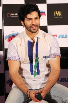 Varun Dhawan at  Humpty Sharma ki Dulhania First Look Launch