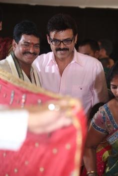 Venkatesh at Sivaji Raja's Daughter Rani Meghana Devi Wedding Photos