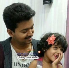 Vijay was spending time with Major's daughter Arshea