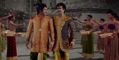 Rajinikanth still from Vikrama Simha