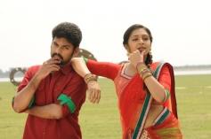 Vimal & Lakshmi Menon still from film Manja Pai Movie