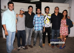Vishesh Bhatt, Rajkummar Rao, Hansal Mehta, Patralekha at Citylights Special Screening