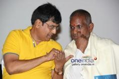 Vivek & Ilaiyaraja at Porkalathil Oru Poo Movie Audio Launch