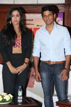 Jeeva, Thulasi Nair still from Yaan Audio Launch