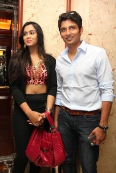 Jeeva and Thulasi Nair at Yaan Audio Launch