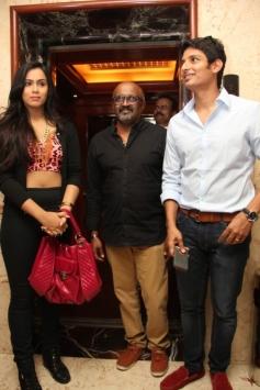 Jeeva, Thulasi Nair and Director Ravi K.Chandran at Yaan Audio Launch