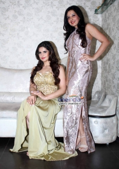 Zarine Khan at Amy Billimoria displays her eco friendly collection