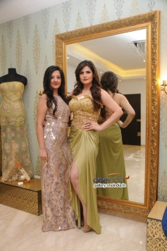 Zarine Khan and Amy Billimoria displays her eco friendly collection