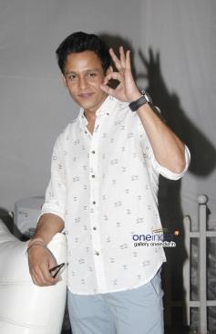 Actor Abhishek Rawat at Bhatak Lena Bawre Serial Launch