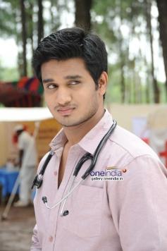 Actor Nikhil pics from Karthikeyan Movie