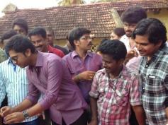 Actor Simbu and Nayantara Celebrates Pandiraj's Birthday