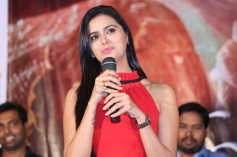 Actress Meenakshi Dixit at Adavi Kachina Vennela Audio Launch