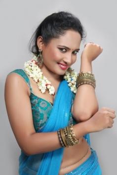 Actress Pearl D'souza