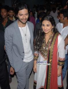 Ali Fazal and Vidya Balan
