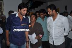 Allari Naresh at Bandipotu Movie Launch