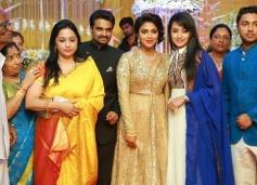 Trisha at Amala Paul and AL Vijay Marriage Reception