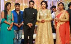 Perarasu at Amala Paul and AL Vijay Marriage Reception
