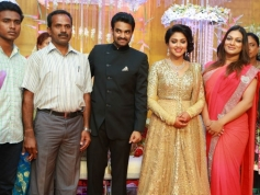 Amala Paul and AL Vijay Marriage Reception