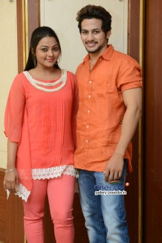 Anurag & Kajal Yadav at Manasa Thullipadake Success Meet
