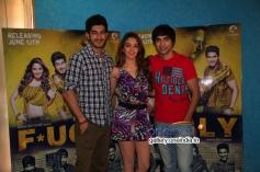 Arfi Lamba, Kiara Advani & Mohit Marwah at Fugly Movie Team Meets the Media