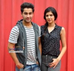 Armaan Jain, Deeksha Seth at Lekar Hum Deewana Dil Movie promotes at Splash