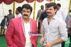 Boyapati Srinu at Balakrishna's new Movie Launch