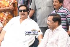 Dasari Narayana Rao and B Gopal at Balakrishna's new Movie Launch