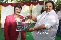 Dasari Narayana Rao sounded the clap at Balakrishna's new Movie Launch