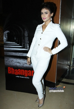 Debonita Sur at First Look and Trailer Launch of Dilip Sood's Baangarh