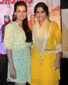 Dia Mirza and Vidya Balan at Bobby Ko Sab Malum Hai Blog Launched