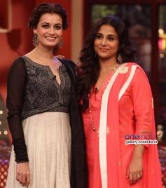 Dia Mirza, Vidya Balan at Bobby Jasoos Promotion on the sets of Comedy Nights with Kapil