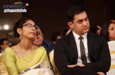 Kiran Rao & Aamir Khan at Dilip Kumar's Autobiography Launch