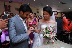 Director Vijay and Amala Paul Engagement Pictures