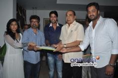 Eesha, Allari Naresh & D. Ramanaidu at Bandipotu Movie Launch