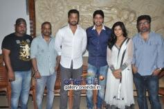 Eesha & Allari Naresh at Bandipotu Movie Launch