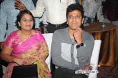 Geetha and Shivarajkumar at Aryan Movie Audio Release
