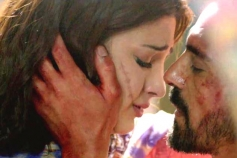 Actor Arjun Rampal & Shruti Hassan in Gelupu Gurram Movie